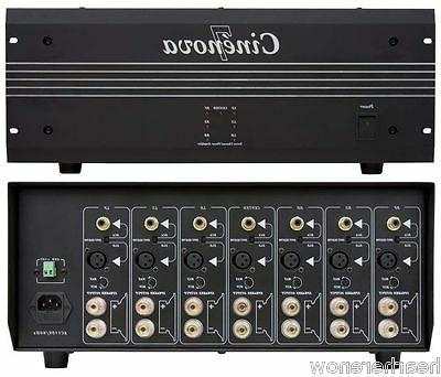 sound cinenova audiophile 7 channel amplifier full