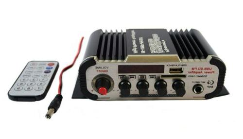 stereo amplifier for car motorcycle boat bar