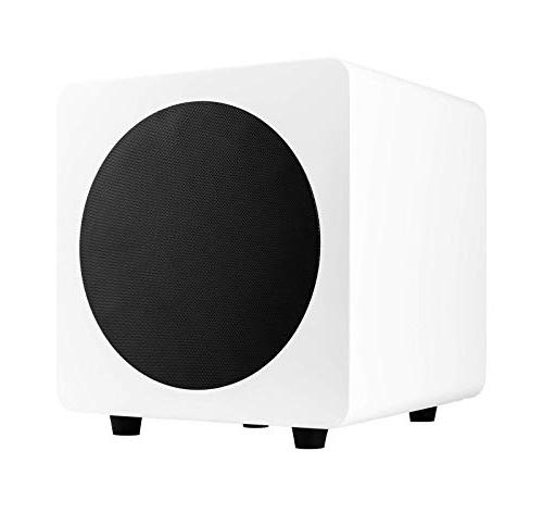 "Kanto SUB8 Powered Subwoofer – 8"" Paper Cone Driver —"