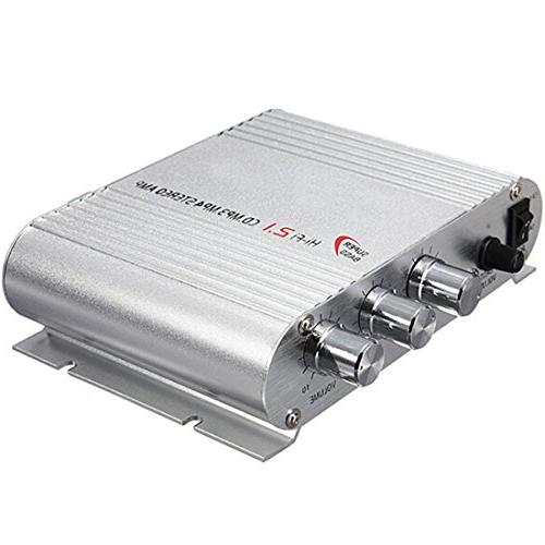 SUPER BASS 12V Audio Amplifier for Home Car Motorcycle Hi-Fi Stereo