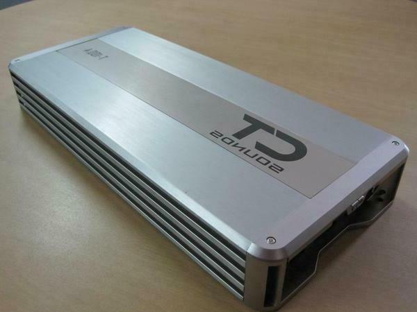 CT Sounds T-100.4 Audio Amp Full Class AB Channel Class