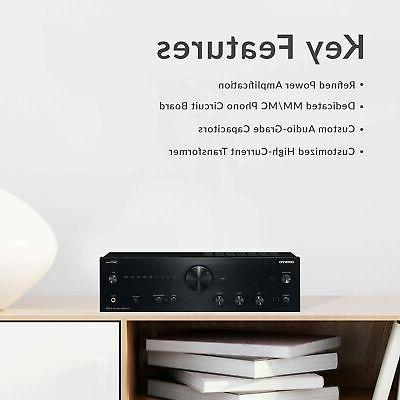 Onkyo TX-NR595 Smart AV Receiver Works with   Ultra HD   AirPlay 2  ...