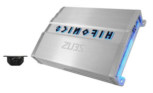 Hifonics ZG-2400.1D ZEUS Gamma 2400 Watt Mono Amplifier Car