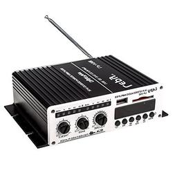 Lepy LP-V9S Hi-Fi stereo power digital amplifier with USB SD