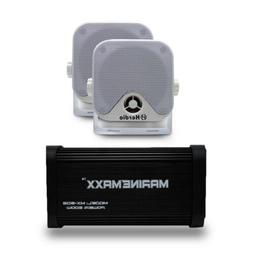 Marine Bluetooth amplifier 500W 4Channels for Car Motorcycle