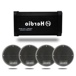 Marine Bluetooth amplifier 500W for Car Motorcycle Boat+ 3in