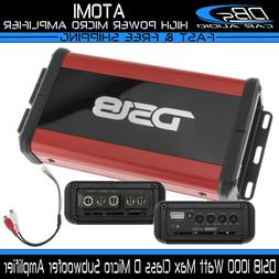 Mini Mono block Compact Amplifier 1000W Motorcycle ATV UTV B