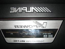 Alpine MRA-F350 5-channel car amplifier