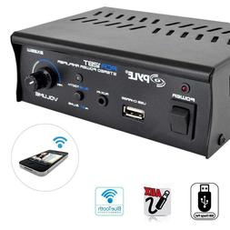 NEW Bluetooth Compact Stereo Speaker Amplifier.Home Audio Am