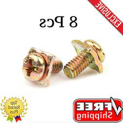 New GOLD PLATED Car Amplifier / Amp Speaker Power Ground TER