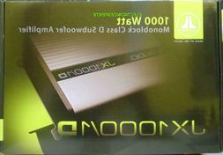 New JL AUDIO JX1000/1D 2000 Watt Car Monoblock Amplifier Mon