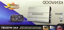NEW KENWOOD KAC-M1824BT 400W Compact Bluetooth 4-Channel, Cl