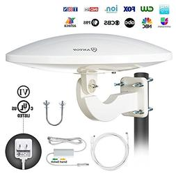 ANTOP 360° Omni-Directional Amplified Outdoor HDTV Antenna
