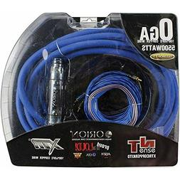 Orion True OFC 0 Gauge Complete Amp Wiring Kit 100% Pure Cop