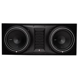 Rockford Fosgate P1-2X10 10-Inch Dual Subwoofer Enclosure