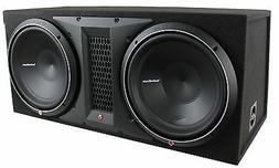 Rockford Fosgate P3-2X12 1200 Watts Dual Rms Subwoofer Enclo