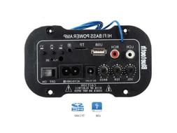 Power Bass Amplifier with Bluetooth, USB ,TF & Remote Contro