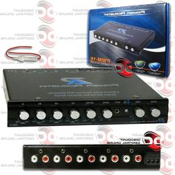POWER ACOUSTIK PWM-16 CAR 4-BAND EQUALIZER W// BUILT-IN PRE-AMP /& SUB CONTROL