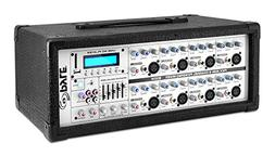 8-Channel Microphone System Powered Mixer - 800 Watts Power