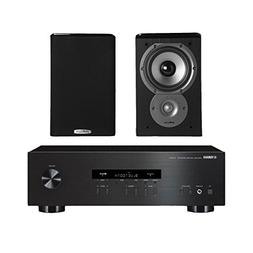 Yamaha R-S202 Stereo Receiver with Bluetooth and Polk TSi100