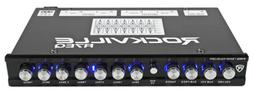Rockville R7EQ 1/2 Din 7 Band Car Audio Equalizer EQ w/Front