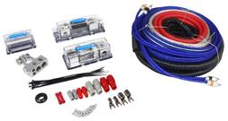 Rockville RDA4+8K Dual 4/8 AWG Car Multi-Amp Installation Wi