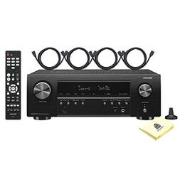 Denon AVR-S540BT 5.2 Channel 70W x 5 AV Receiver with Dolby