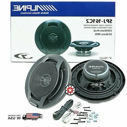 "ALPINE SPJ-161C2 6"" 6-INCH 250w 2-way car audio coaxial spea"