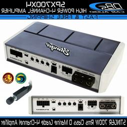 Stinger SPX700X4 Micro 4 Channel 700 Watt Powersports Amplif