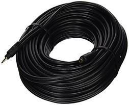 75ft Premium 3.5mm Stereo Male to 3.5mm Stereo Female 22AWG