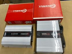 Taramps HD3000 Mono Amplifier & DS800X4 4ch Amp Package Deal