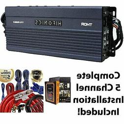 Hifonics TPS-A600.5 600W 5-Channel Compact Power Amplifier +