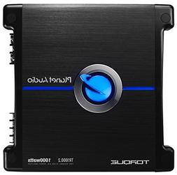 Planet Audio TR1000.2 Torque 1000 Watt, 2 Channel, 2 to 8 Oh
