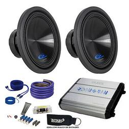 "Alpine Two Type-S 12"" Subwoofers & Hifonics ZXX-1200.1D Zeus"