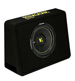 "Kicker 10"" 600 Watt 4 Ohm Vented Thin Profile Subwoofer Encl"