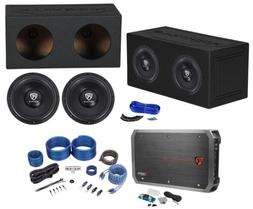"Rockville W12K6D4 V2 12"" 4800w Subwoofers+Sealed Enclosure+"