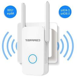 WiFi Range Extender Signal Booster 2.4GHz and 5GHz Dual Band