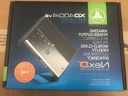 JL Audio XD400/4v2 4-channel car amplifier — 75 watts RMS