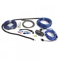 NEW NVX XKIT42 100% Copper 4 Gauge Car Amp Install Kit w/ 2-